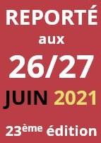 Report des JPPM au 26 et 27 juin 2021